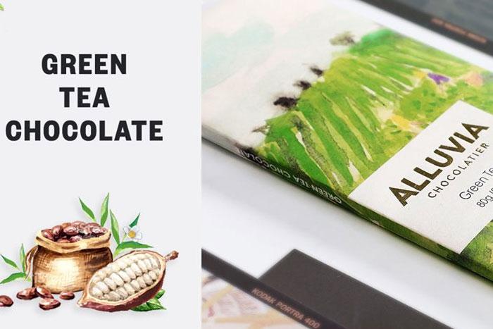 Hương vị sô-cô-la trắng kết hợp cùng trà xanh để tận hưởng niềm hạnh phúc tan chảy