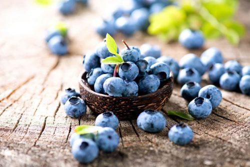 Quả việt quất chứa nhiều dưỡng chất rất tốt cho sức khỏe