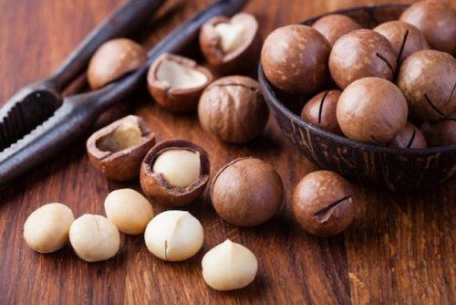 Hạt mắc ca béo, bùi và nhiều giá trị dinh dưỡng